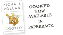 Cooked, now available in paperback