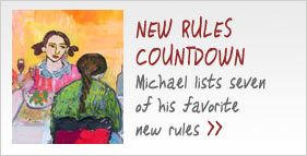 Michael Pollan Counts Down His Favorite New Rules