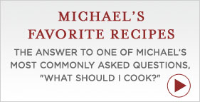 Michael Pollan's Favorite Recipes